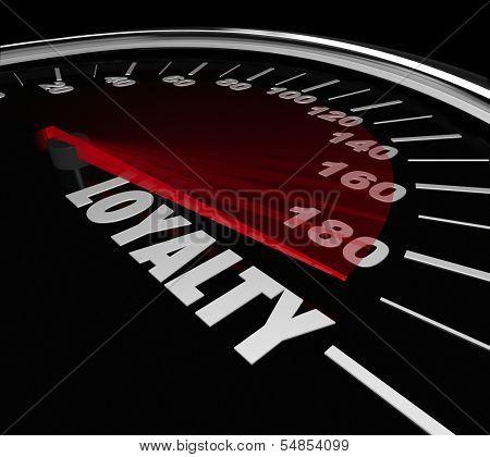 Loyalty Speedometer Measure Customer Retention