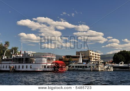 Downtown Kelowna Waterfront Marina