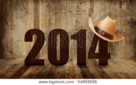 Western happy new year 2014