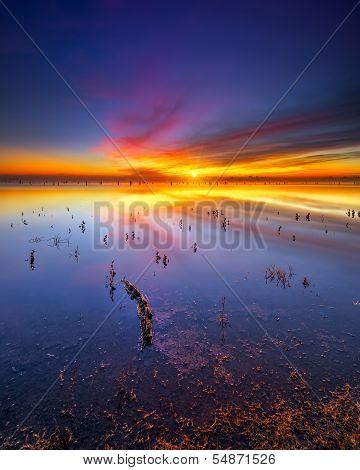 Texas Lake Sunrise
