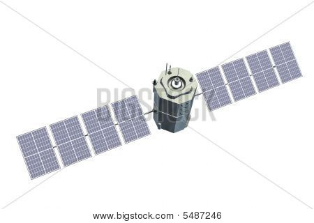 Side View Of Satellite