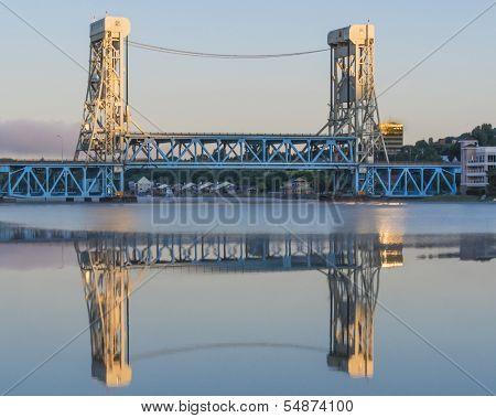 Portage Lake Lift Bridge, Houghton-Hancock, MI