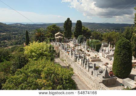 St. Paul De Vence Cemetery, France