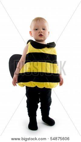 Baby Boy In Bumblebee Costume