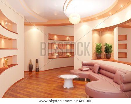Modern Interior Of A Vestibule