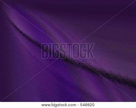 Abstract Purple Curves
