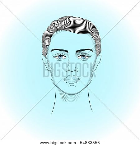 Portrait Of Androgyne