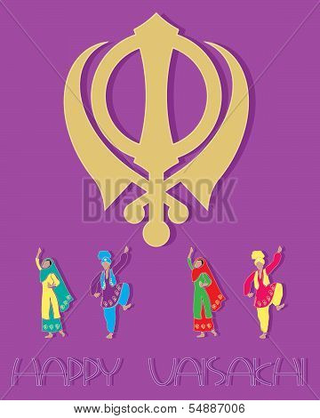 Sikh Greeting Card Design