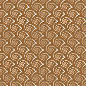 Design seamless monochrome helix diagonal background. Vector art poster
