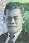 Otto Iskandar Dinata on 20000 Rupiah 2004 Banknote from Indonesia poster