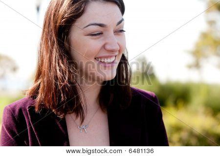 Candid Woman