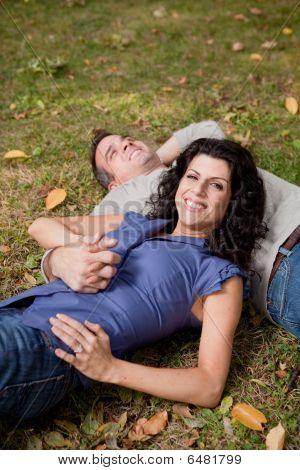 Happy Park Couple