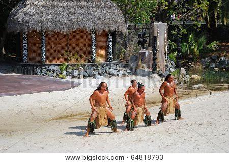 Polynesian Show.