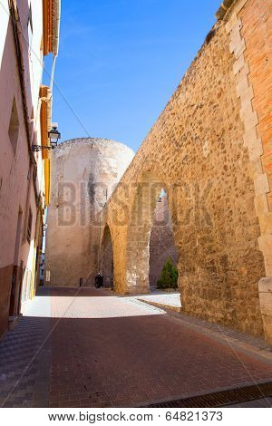 Segorbe Castellon Torre del Verdugo and medieval Muralla in Spain Valencian Community