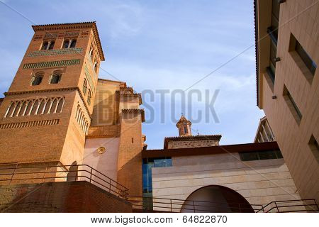 Aragon Teruel Los Amantes mausoleum in San Pedro Mudejar church Spain