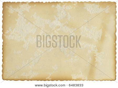 Fluted Edge Card