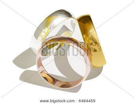 Different golden rings