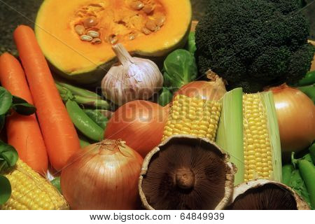 Common Vegetables Frequently Used for Cooking