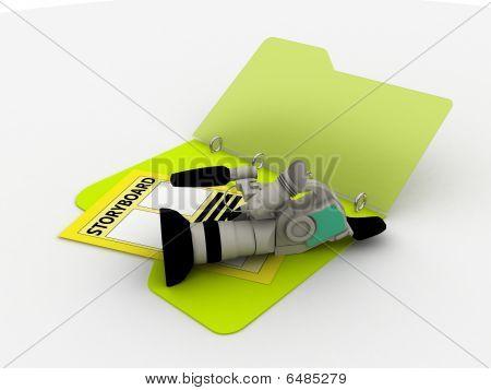 Camera With Storyboard