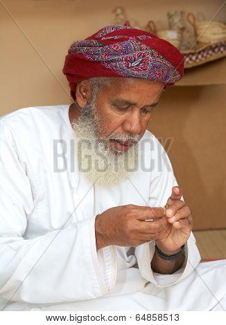 Omani Craftsman