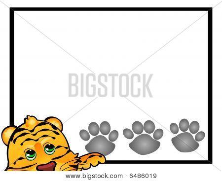Tiger Cat Frame
