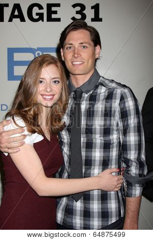 LOS ANGELES - MAY 6:  Ashlyn Pearce, Adam Gregory at the Bold & Beautiful Celebrates Emmy Nominations at CBS Television City on May 6, 2014 in Los Angeles, CA