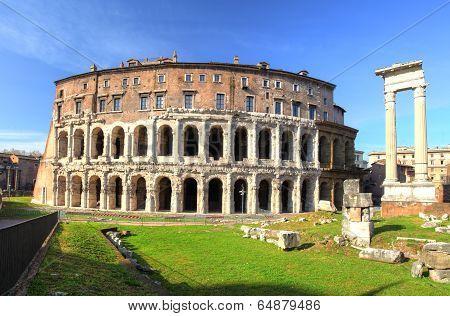 Rome - Theatre - Marcellus, Marcello