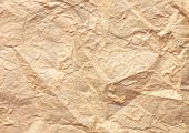 Paper texture brown paper sheet. Sheets of crumpled paper. poster