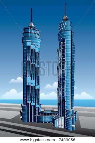 Dubai Emirates Park Towers