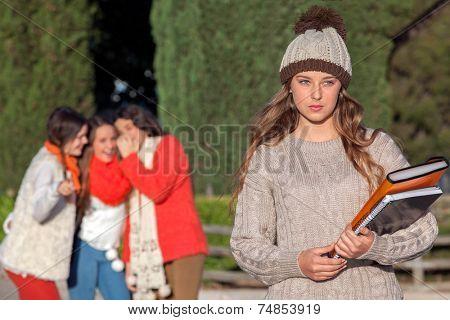 teenagers bullying victim