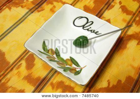 Olive Saucer