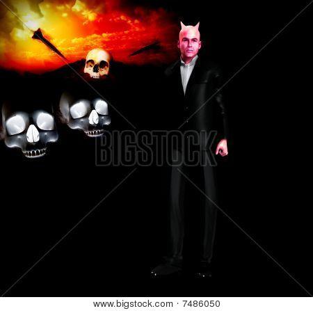 Devil In A Suite Figure