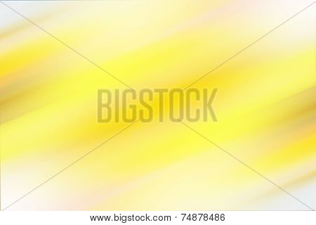 Colorful smooth light lines background. Yellow color illustration poster