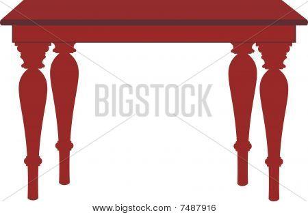 Cartoon table