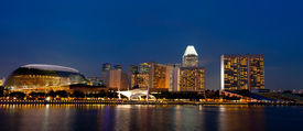SINGAPORE - OCTOBER, 2012