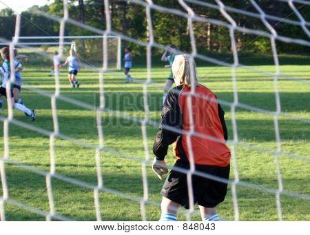 soccer goal keeper