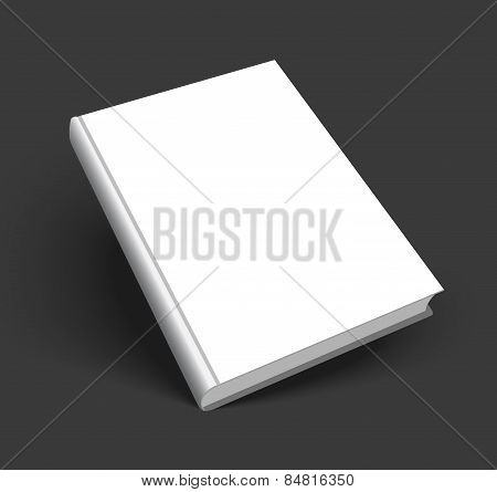 Blank Vector Cover Of Book