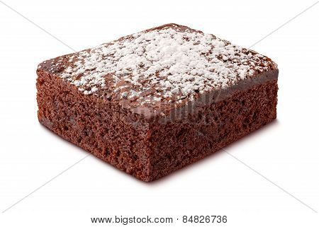 Brownie With Powdered Sugar