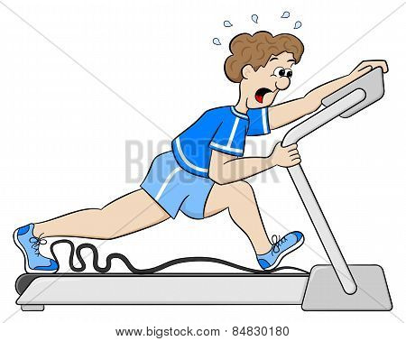 Exhaustive Treadmill Workout