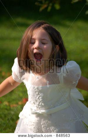 Silly Flower Girl