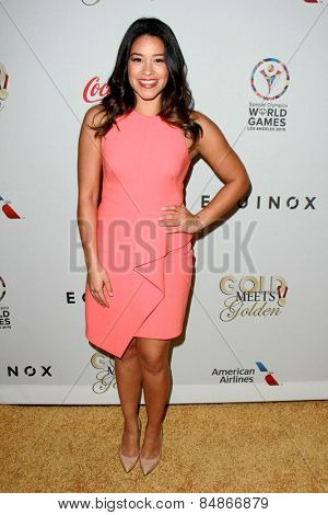 LOS ANGELES - FEB 21:  Gina Rodriguez at the 3rd
