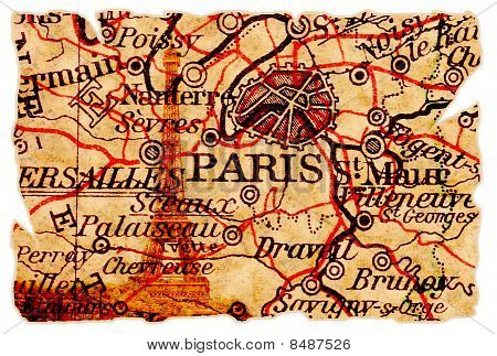 Paris Old Map