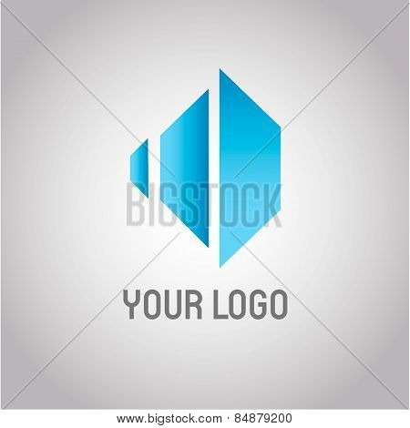 Rhombus Abstract Real Estate Vector Logo Design Template. Modern Symbol Icon. Corporate Company Embl