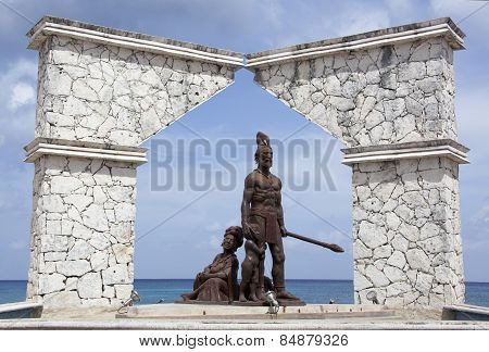 First Nation Monument