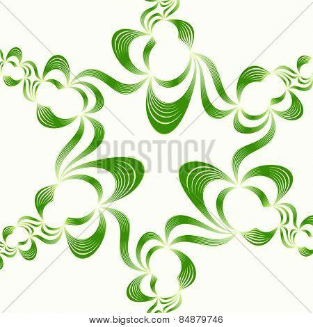 green spring zentangle