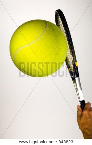 Big Tennis Serve