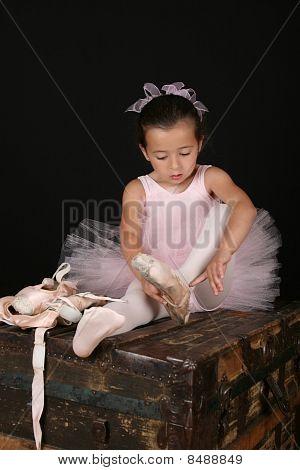 Chica morena de Ballet