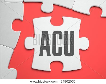 ACU - Puzzle on the Place of Missing Pieces.