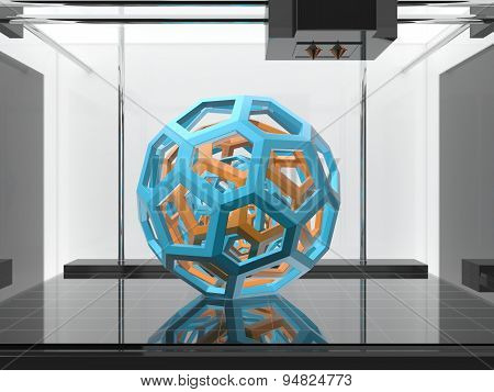 Three-dimensional Printing Machine
