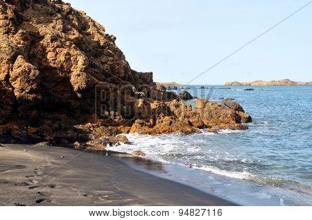 End Of Beach